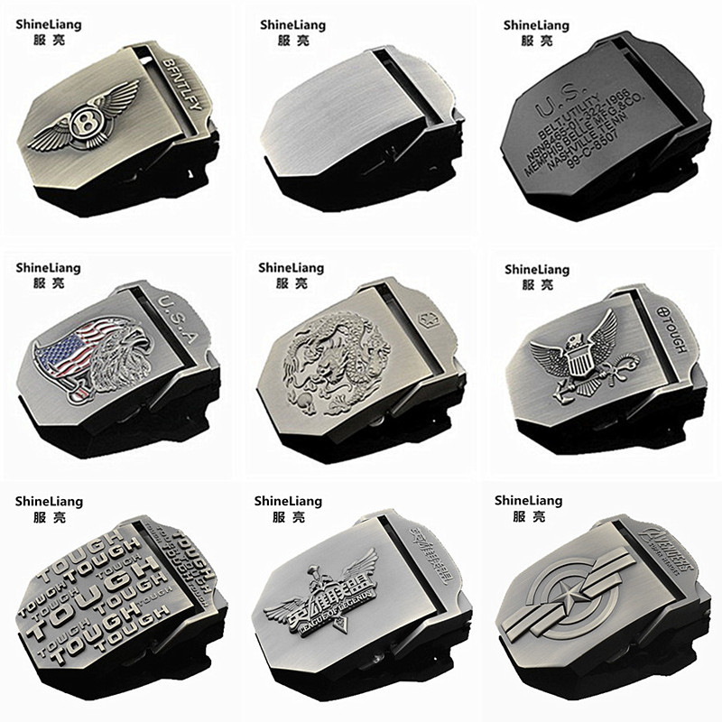 Hot Tactica   belt   buckle for men Alloy material Application of military canvas body Width 3.8CM High quality designers male brand
