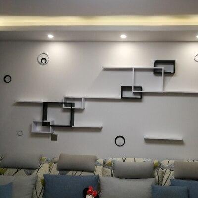 Луи Мода панель настенная полка современный простой подвесной креативный плед гостиная столовая декоративный фон
