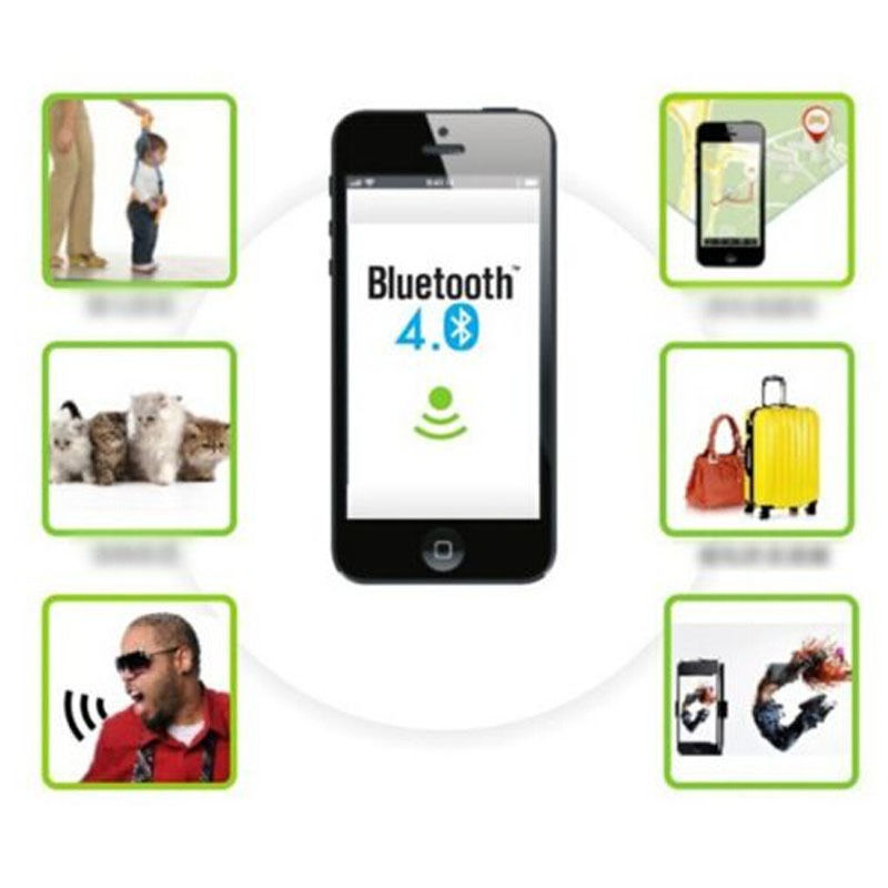 Hot Smart Bluetooth Finder Tracer Pet Child GPS Locator Tag Wallet Key Tracker