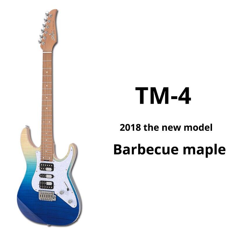 Shijie ToneMaster TM4 hecho a mano personalizado guitarra eléctrica guitarra