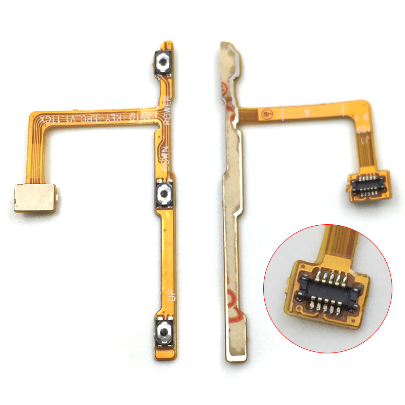 New For ZTE Blade A510 BA510 BA510C Side Power Volume Flex Ribbon Cable Replacement