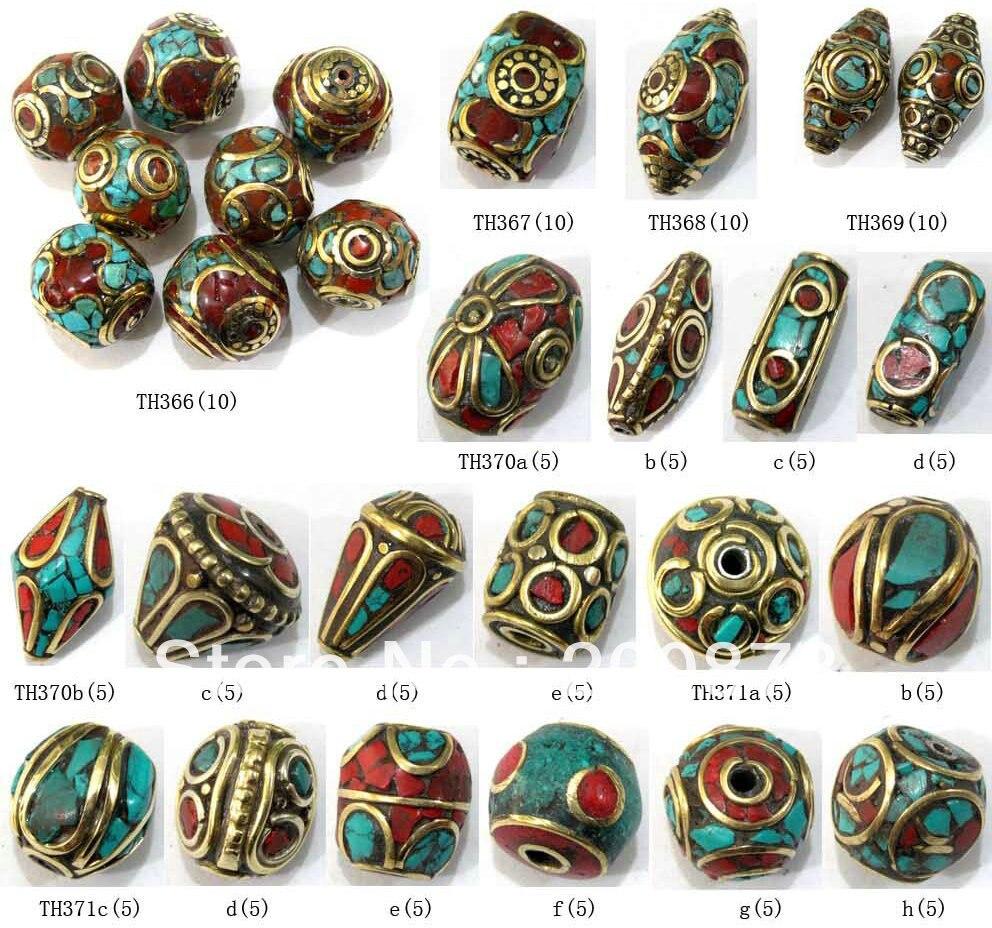 8f058f04856b Mix Wholesale Nepal Handmade Beads Many Designs Best Offer 100beads lot  Free Shipping