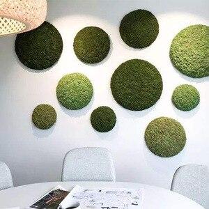 Image 2 - 高品質シミュレーション緑色植物不滅偽花苔草装飾壁diyフラワーミニアクセサリー