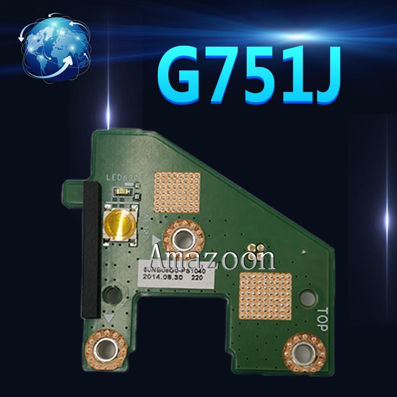 Carte Amazoon G751J SW pour ASUS G751 G751J G751JL G751JY G751JM G751JT carte dalimentation bouton de commutationCarte Amazoon G751J SW pour ASUS G751 G751J G751JL G751JY G751JM G751JT carte dalimentation bouton de commutation