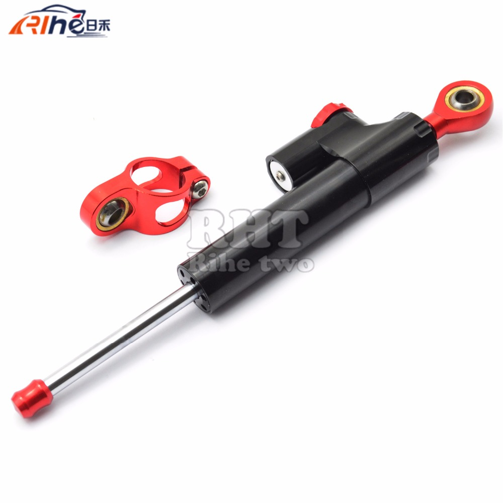 Universal New CNC Aluminum Motorcycle Steering Damper Stabilizer Adjustable For KTM 200 Duke BMW R1200GS ADVENTURE BMW F800GS universal new cnc aluminum motorcycle steering damper stabilizer adjustable for yamaha bmw g310r s 1000 rr s1000rr s1000 r hp4