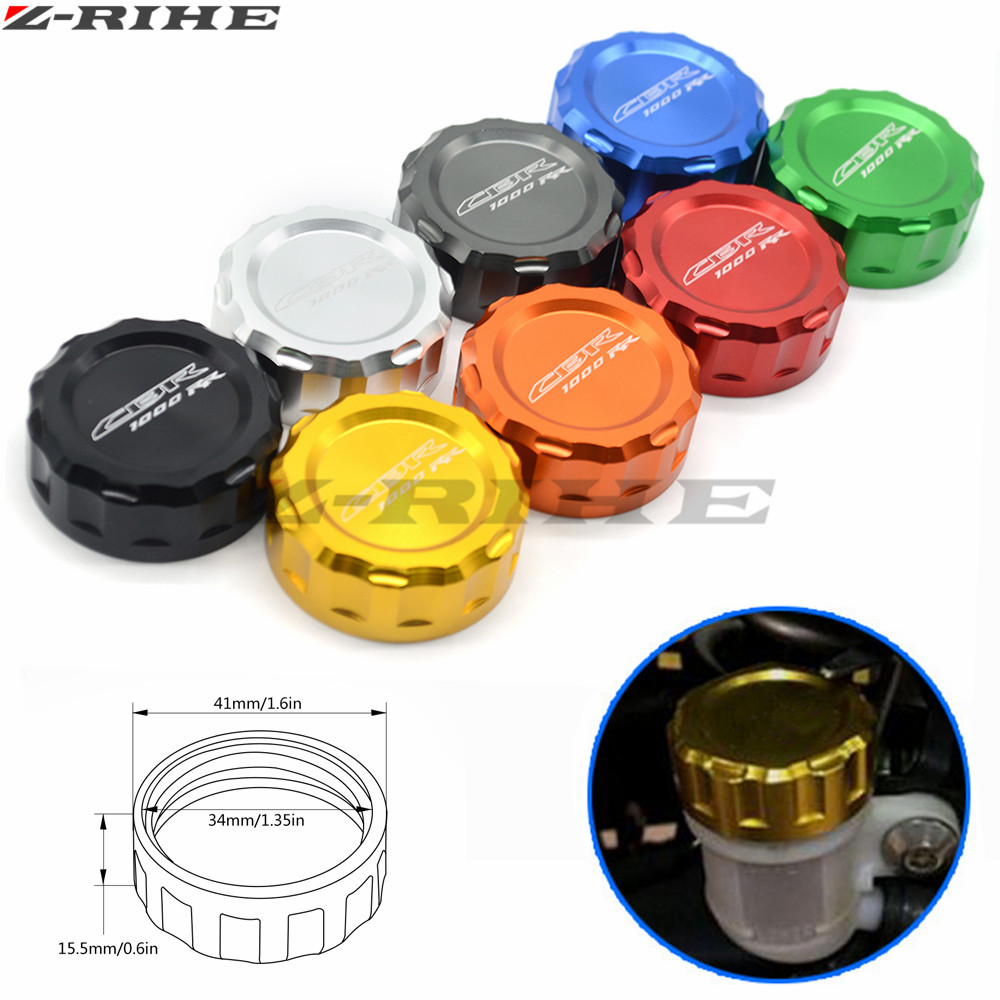 CNC Motorcycle Brake Master Cylinder Oil Filter Fluid Reservoir Cover Cap For Honda CBR1000RR CBR 1000 RR 2008 2009 2010-2014 for honda cbr600rr 07 15 cbr1000rr 04 15 cb1000r 08 15 red motorcycle front brake master cylinder fluid reservoir cover cap