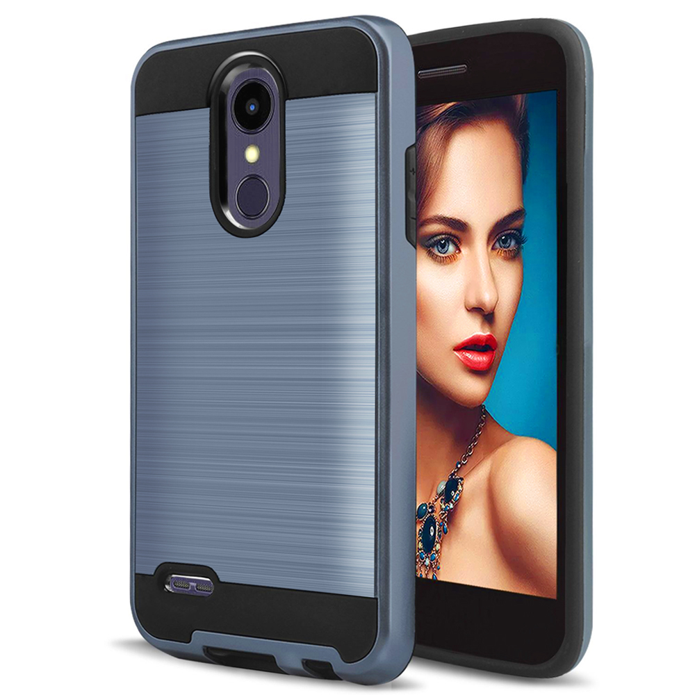 SuaGet Brushed 2 in 1 Hybrid Case TPU & Hard PC Back Armor