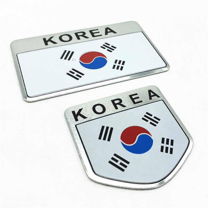 Quốc Kỳ Hàn Quốc Hàn Quốc KR Quốc Huy Huy Hiệu Kiểu Dáng Xe Dán Ô Tô Xe Máy Decal Chống Trầy Dành Cho iPad Notebook Laptop Tiện Dụng SUV