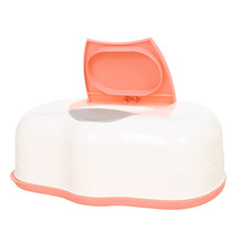 Carro Real Tissue Case Baby Wipes Box Plastic Wet Tissue Automatic Case Care Accessories Press Pop-up Design