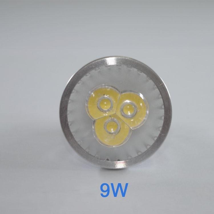 1 pcs Super Bright 9 W 12 W 15 W GU5.3 lampada LED 110 V 220 V Dimmable Levou Holofotes quente Natural Esfria Branco GU5.3 CONDU