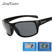 Мужские классические солнцезащитные очки longkeeper винтажные