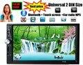 2 DIN автомагнитола 7012B 7 дюймов сенсорный экран радио Автомобиль MP5 MP4 Аудио видео USB TF bluetooth резервное копирование приоритетом HD Audio стерео
