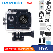 HAMTOD H9A 4K 30FPS WiFi Action Camera 2.0 inch LCD Screen 1080P HD Diving Waterproof mini Camcorder Sports Cameras