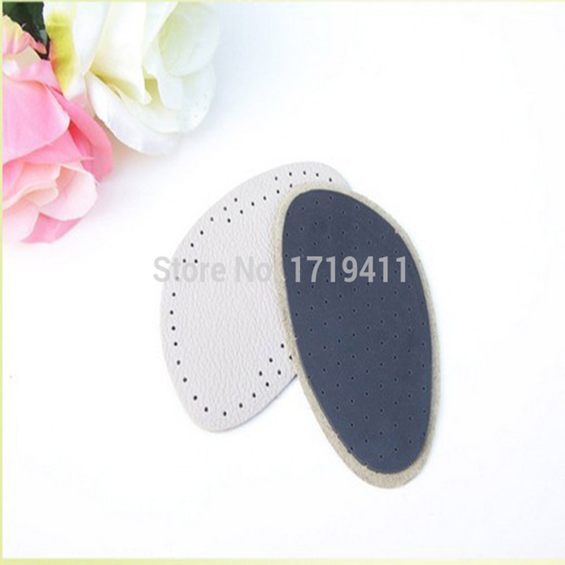 50 Pairs Genuine Leather Gel Silicone Shoe pad Insoles women's high heel Cushion Protect Comfy Feet Palm Care Pads 2 pairs gel silicone shoe pad insoles women s high heel cushion protect comfy feet palm care pads accessories