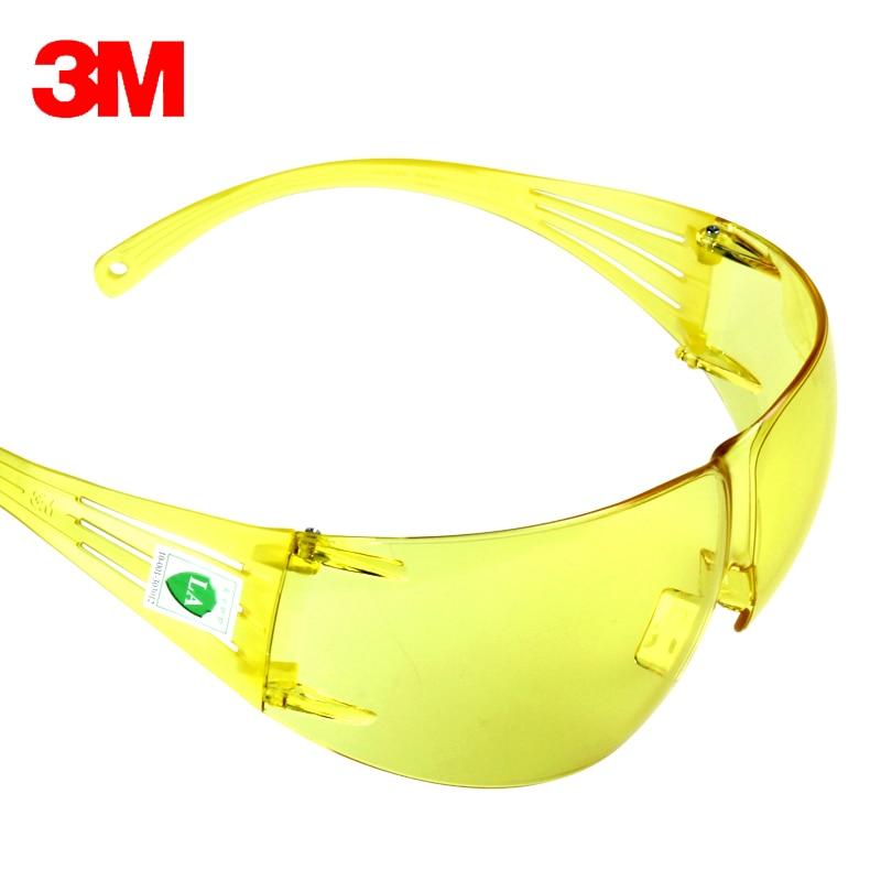 3M SF203AF Goggles Windproof SandAnti-shock Antimist Absorb Ultraviolet Light Eyes Protector Professional Safety Goggles KU009
