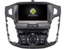 NAVIRIDER Ocho Core 4 GB RAM 6.0.1 Android reproductor multimedia de coche para FORD FOCUS 2012 del coche dvd gps BT de radio estéreo USB