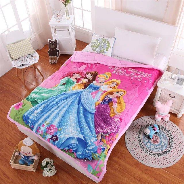Free shipping children cartoon princess pattern aircondition ... : children quilt - Adamdwight.com