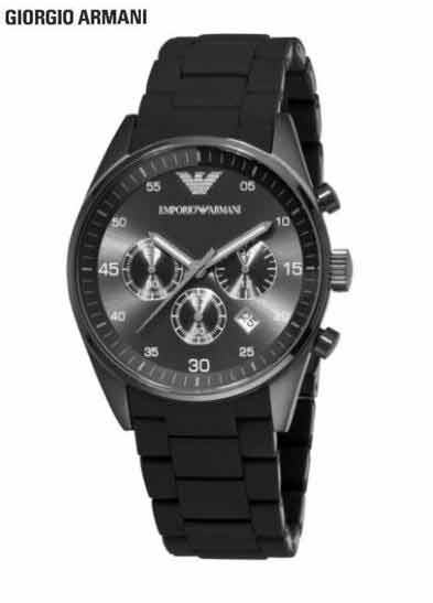 цена на Free shipping EMS/DHL Original Armani men's watches, fashionable watches, men's quartz watch AR5889 + Original Box