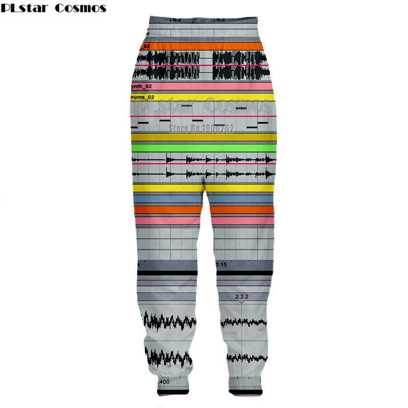 PLstar Cosmos Ableton live New style Brand Popular Fashion Mens Womens casual Pants 3D P ...