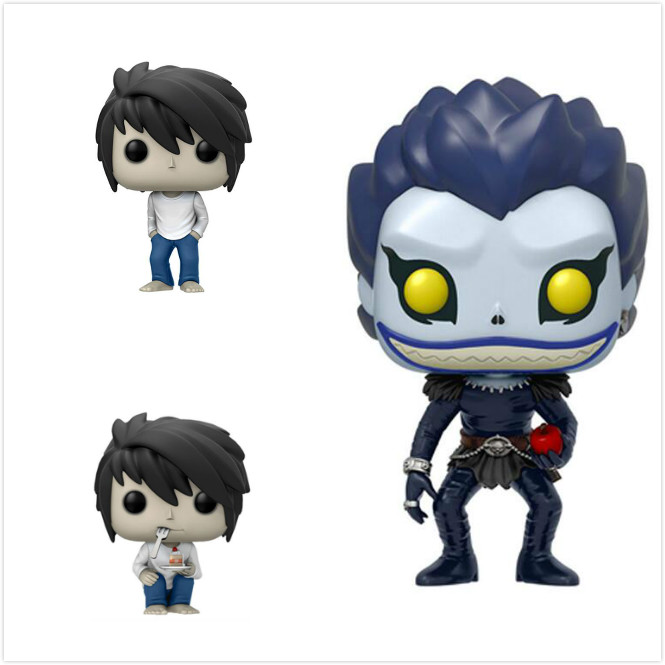 Funko POP Anime Death Note Moive Action Figure Collection Model Toy Gifts