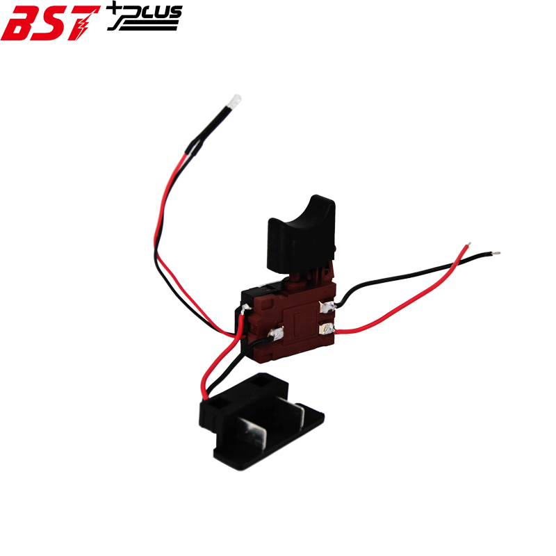 Power Tool Accessories Hand & Power Tool Accessories Reasonable Dc18v21v/24v Lithium Battery Cordless Drill Speed Control Trigger Switch With Light Speed Cotrol Trigger Switch