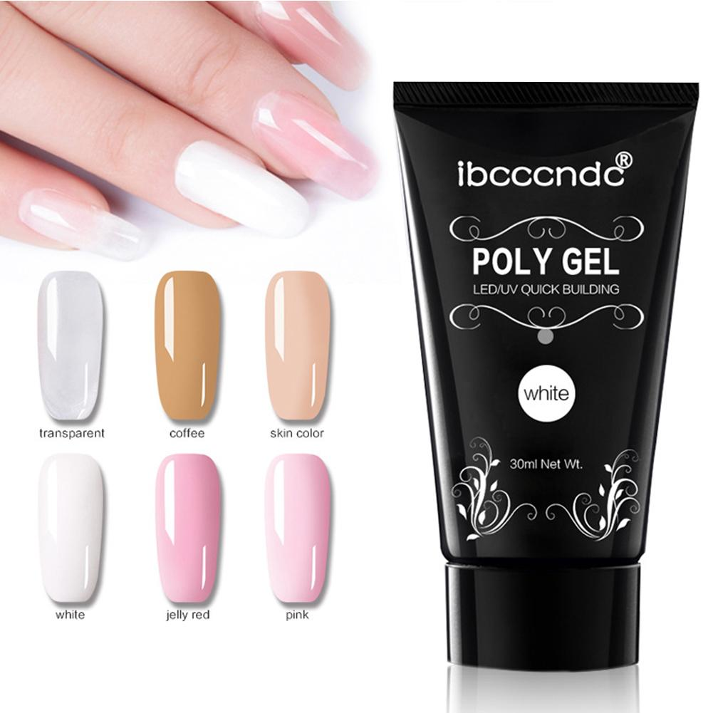 10Pcs/set Poly Gel Varnish Nail Polish Set Polygel Quick Builder Extension Enhancement Camouflage LED UV Lacquer Brush Nail Tips top julius homme men s watch japan quartz hours fine fashion dress bracelet simple leather birthday lovers boy gift
