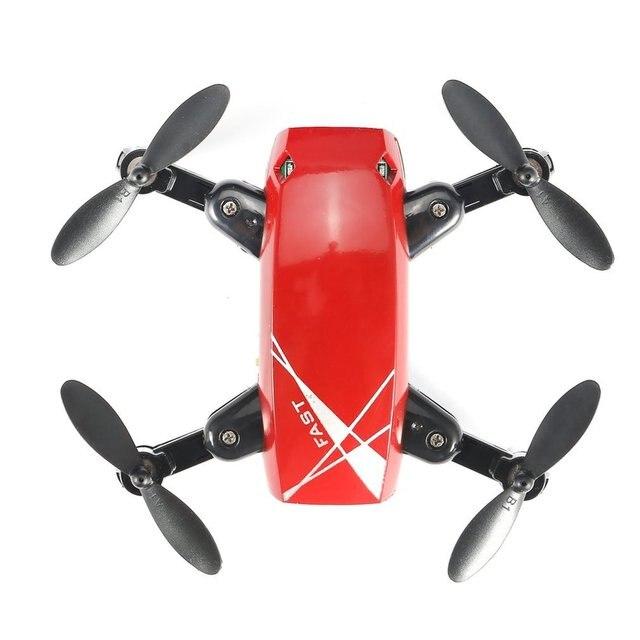 S9W RC Helicopter WIFI FPV 0.3MP Camera Mini Foldable Drone Atitude Hold Mode One-key Return 360 Degree Flip RC Quadcopter RTF