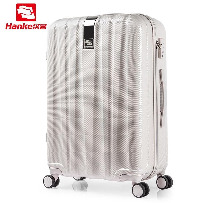 Melhor Girador Bagagem Trole PC Saco De Viagem De Rolamento Da Roda Mala Carry-On Homens Mulheres Bagagem sacos de Viagem de Viagem de Embarque h80002