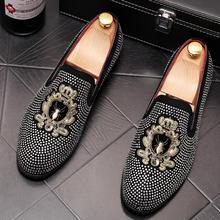 New Men's Top Brand Designer shoes Male