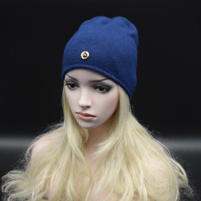Oferta especial!! 2017 Nueva Marca de Invierno Suave Lana Gorros sombrero color Sólido Ocasional gorra de Esquí Para Las Mujeres y de Los Hombres Calientes Gorros Skullies