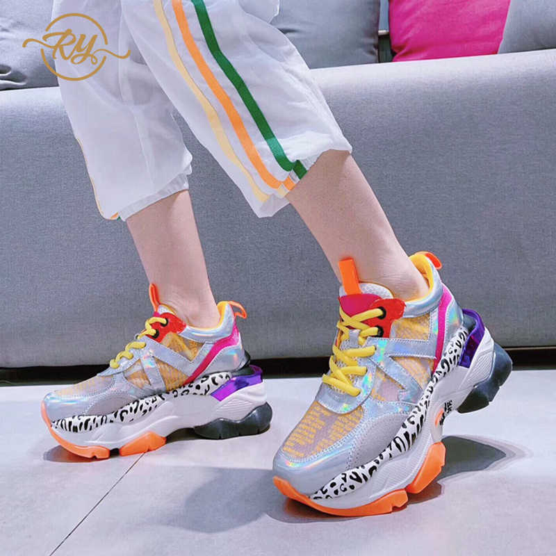 8dabf67f2f RY-RELAA women sneakers 2018 new shoes woman Genuine Leather designer shoes  summer ins style European and American fashion shoes