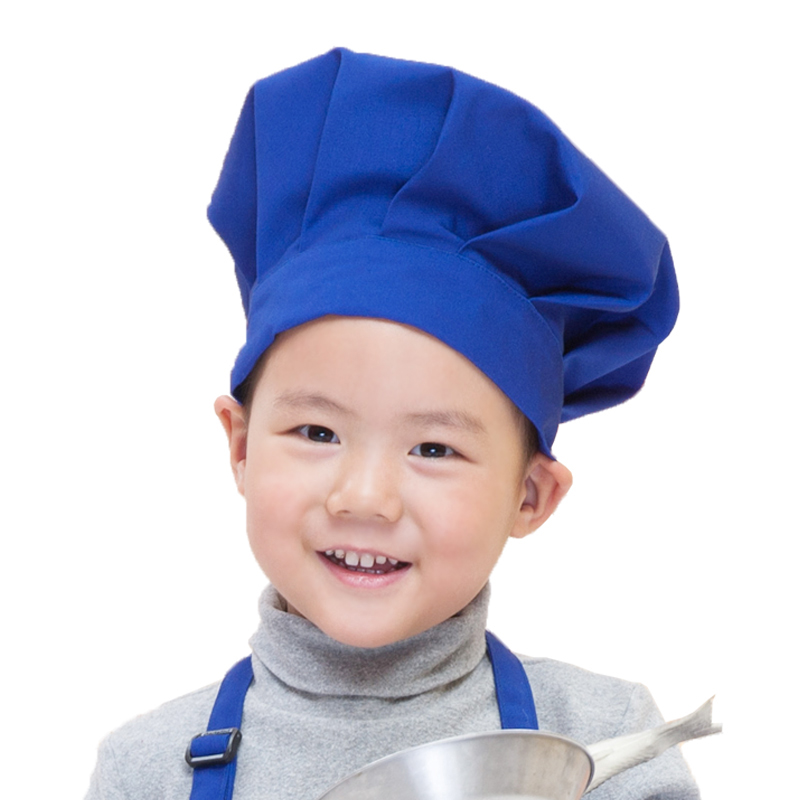 Child cook cap kid chef hat child home dinning cook cap cook with jamie