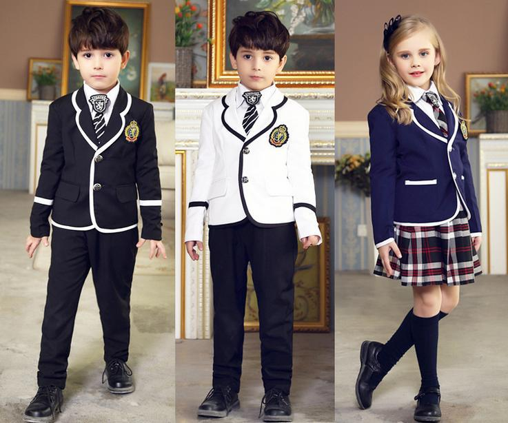British School Kindergarten Uniforms For Boy Girl Suits -6015
