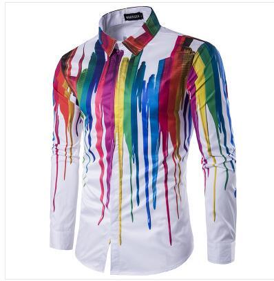 Këmisha të shtypura me këmishë të reja 3D Loldeal Burra - Veshje për meshkuj - Foto 4