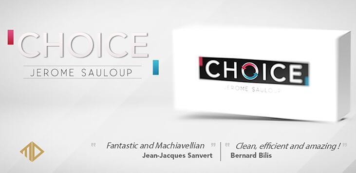 Choice By Jerome Sauloup Magic Tricks