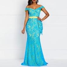 0a680af657bf0 Popular Blue Mermaid Dress-Buy Cheap Blue Mermaid Dress lots from ...