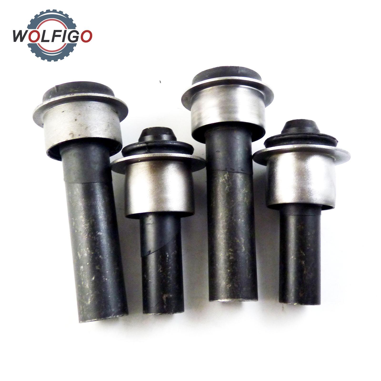 WOLFIGO 4pcs Set Engine Cradle Subframe Crossmember Bushing 54467BR00A 54466 JD000 for Nissan Rogue X Trail