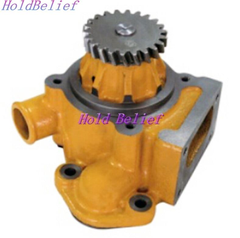 New Water Pump for Komatsu Engine 6D125