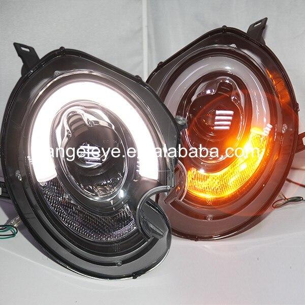 Pour BMW pour mini Cooper Clubman R55 R56 R57 lampe frontale LED lampe frontale pour voiture d'origine avec lampe halogène 2007-2013 an SN