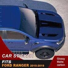 free shipping  cool hood bonnet sticker graphic Vinyl for Ford ranger 2015 2016 2017