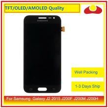 купить ORIGINAL For Samsung Galaxy J2 2015 J200F J200M J200H J200Y J200 LCD Display With Touch Screen Digitizer Panel Assembly Complete дешево