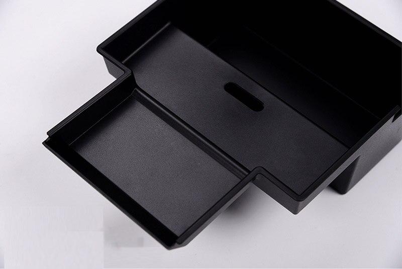 Car Interior Central Armrest Storage Box For Jaguar XE XF F-Pace 2016 Car Accessories