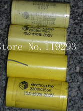 [BELLA]eiectroube American Electronics Club Fever 15UF200V volume 23 * 48 in stock wholesale–10pcs/lot