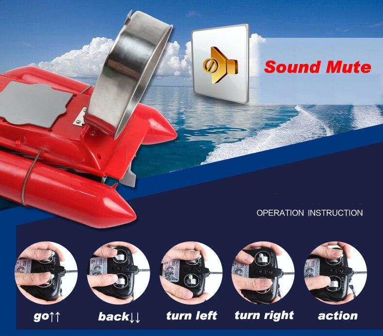 Sonar sem Fio Mar Lago Peixe Detectar Profundidade