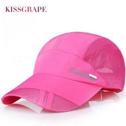 2017 summer women s breathable mesh baseball caps quick dry hats female sport bone snapback hats.jpg 250x250