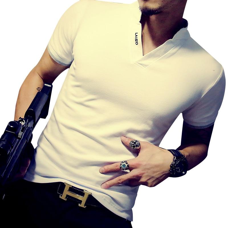 FGKKS New Men T Shirts Short Sleeve Fashion T Shirt Men Slim Men T-Shirt Camisetas Fashion Hombre Tee Shirt Male Homme T Shirts