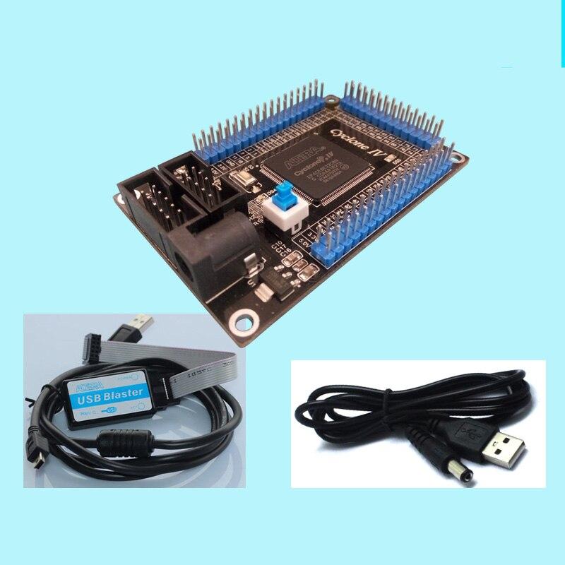 L'ALTERA Cyclone IV 4 Développement FPGA Démarreur Contrôle EP4CE6E22C8N Programmable Logique IC Outil kit de bricolage USB Blaster