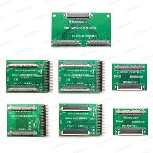 Image 2 - TV160 7th TV Mainboard Tester Tools LCD Display Vbyone LVDS to HDMI Converter + 7 Adapters Panels