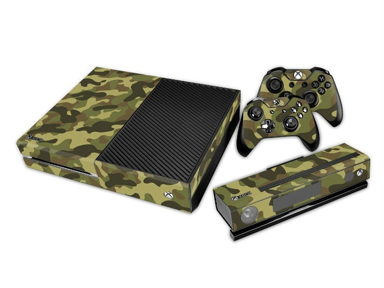 Army Green For XBOX ONE Console Game Sticker Cover Vinyl Decals and Controllers Skins Xbox One Sticker