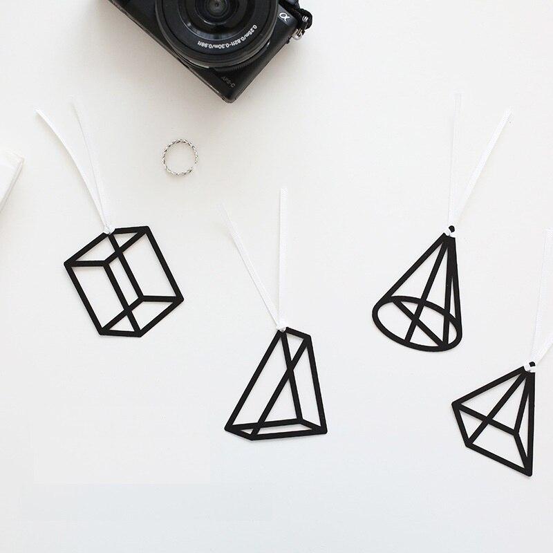 32 шт. математик закладки мини-куб конический четыре Prism Книга Марка канцелярские принадлежности Школьные принадлежности papeleria EC767